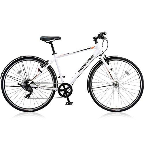 ブリヂストン(BRIDGESTONE) クロスバイク TB1 TB420 P.Xスノーホワイト 420mm B075ZNG7JY