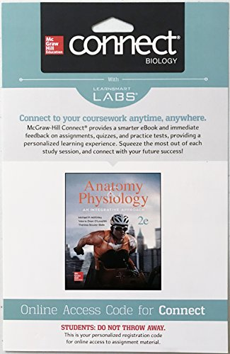 Connect with Learnsmart Labs Access Anatomy & Physiology : An Integrative Approach -  McGraw-Hill