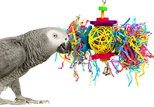 Bonka-Bird-Toys-1839-Foraging-Star-Bird-Toy-parrot-cage-toys-cages-shredder-cockatiel-conure-african-grey