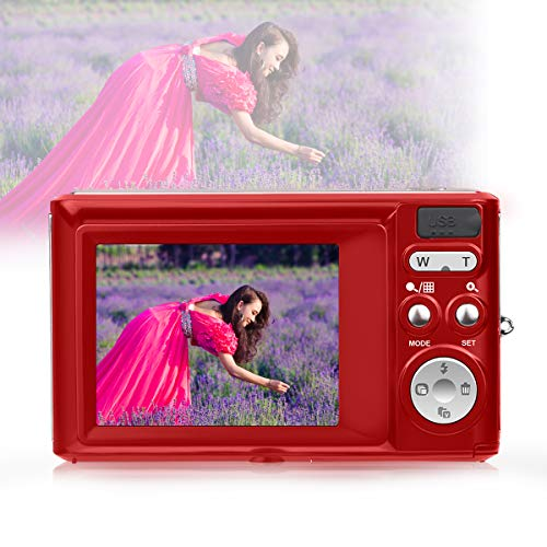 HD Mini Digital Cameras,21MP Point and Shoot Digital Video Cameras-Travel,Camping,Gifts