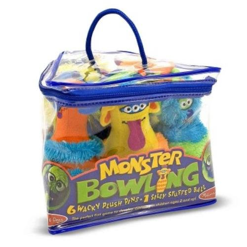 Melissa & Doug Monster Bowling ()