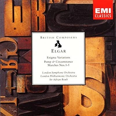 Elgar - Orchestral Works - Enigma Variations - Pomp & Circumstance Marches Nos. 1-5 (1995-01-01)