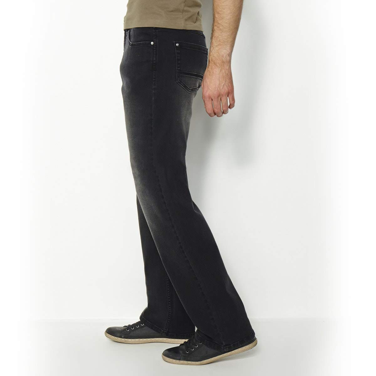 La Redoute Castaluna for Men Mens Elasticated Waist Stretch Jeans Length 33