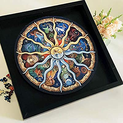 500 Pieces Jigsaw Puzzles for Adults Imagination Series- Zodiac Horoscope Puzzle Toys DIY Constellation Puzzles Graduation Gift: Toys & Games