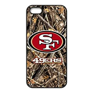 Custom phone shell San Francisco 49ers Fantasy Camouflage Camo Tree Case for Iphone 5S/5 TPU Cases