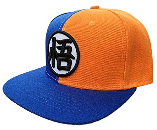 GK-O Anime DBZ Dragonball Z Goku Canvas Baseball Caps Hat Cosplay Costume