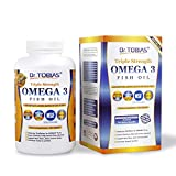Dr. Tobias Omega 3 Fish Oil Triple Strength Caps