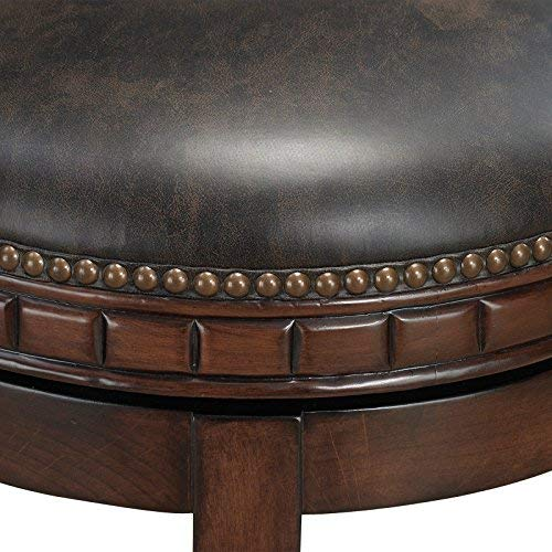 American Heritage Billiards Sonoma Bar Height Stool, Suede