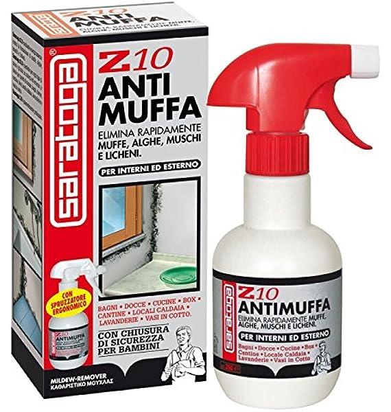 Saratoga Z10 - Líquido antimoho en rociador, para todo tipo de superficies, 500 ml: Amazon.es: Hogar