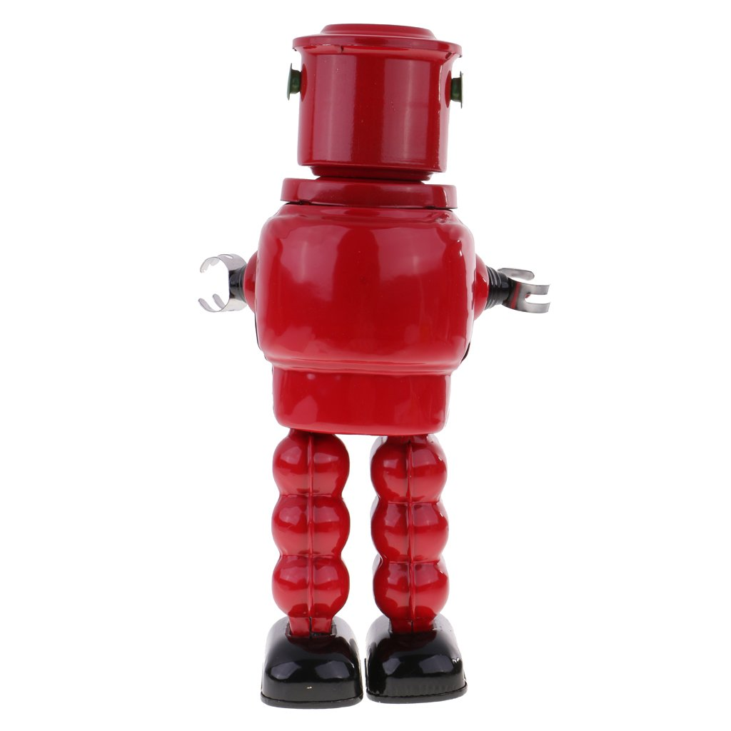 Jili Online New Mechanical Roby Robot Wind Up Clockwork Tin Toys Decoration Collectibles by Jili Online (Image #5)