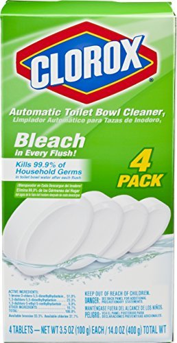 UPC 764442456442, Clorox Automatic Toilet Bowl Cleaner, 3.5 Ounce, 4 Pack by Clorox Automatic Toilet Bowl Cleaner