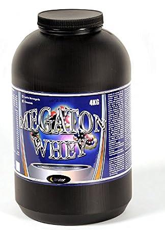 Megaton Whey 4kg. proteinas, Sabor Leche merengada: Amazon.es: Deportes y aire libre