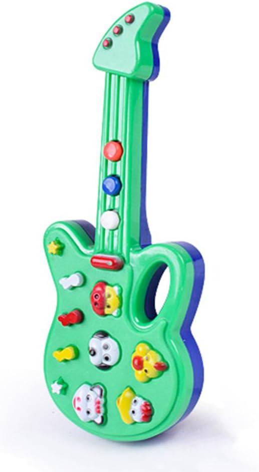 Guitarra de juguete para niños y bebés, simulación para el ...