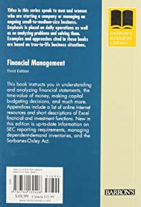 Financial Management (Barron's Business Library Series) by Barron's Educational Series