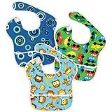 Bumkins SuperBib 3 Pack -Blue Fizz/OnTheGo/Owls