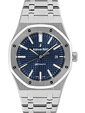 brand new 0f848 bc8e4 Amazon   [オーデマ・ピゲ] 腕時計 ロイヤルオーク ブルー ...