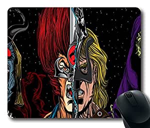 """He-Man Lion-O Masters of the Universe Skeletor ThunderCats Top Game Mouse Pad PC Computer Gaming Mousepad Fabric + Rubber Material in 220mm*180mm*3mm (9""""*7"""") -827007"""