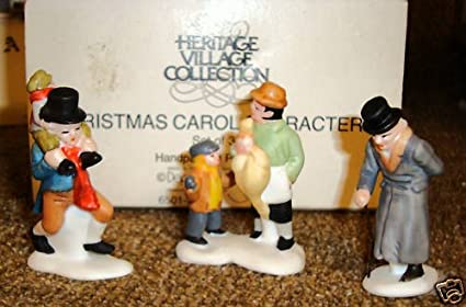 Christmas Carol Characters.Department 56 Heritage Village Collection Dickens Village Series Christmas Carol Characters