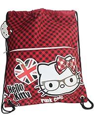 Hello Kitty Vicky Drawstring Gym Backpack Daypack Travel Bag Slim