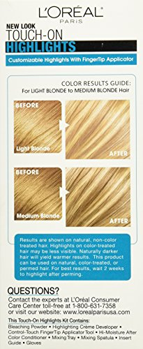 L'Oréal Paris Touch on Highlights Customizable Highlights, H90 Iced Champagne by L'Oreal Paris (Image #4)