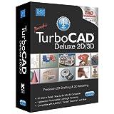 TurboCAD Deluxe 21 2D Design & 3D Modeling CAD Design software