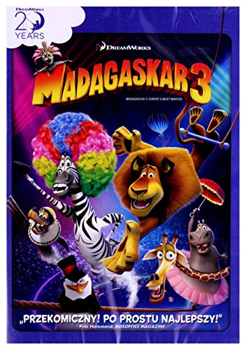 Madagascar 3: Europe's Most Wanted [DVD] (English -