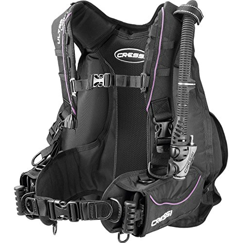 Cressi Ultralight Lady's Back Cell Buoyancy Compensator Jacket, Lilac M