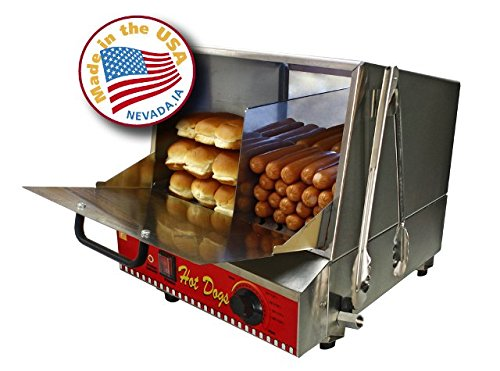 Paragon Classic Hot Dog Hut Steamer Merchandiser for Professional Concessionaires Requiring Commercial Quality & Construction by Paragon International