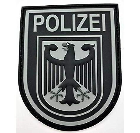 Polizeimemesshop - Parche de Goma, diseño de policía Alemana: Amazon.es: Coche y moto