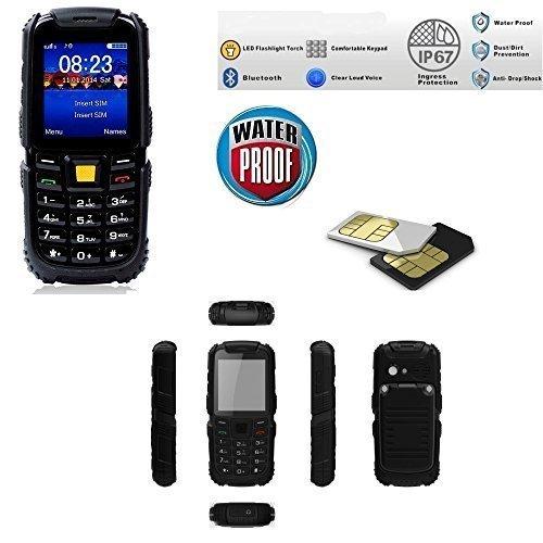 2 opinioni per Telefono Cellulare da Lavoro Impermeabile Waterproof IP67 Dual Sim / Protezione