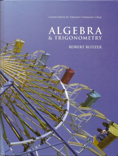 ALGEBRA+TRIGONOMETRY >CUSTOM<