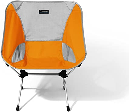 Portable Helinox Chair ONE Large Lightweight Collapsible Camping Chair Golden Poppy One Size Big Agnes