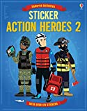 img - for Sticker Action Heroes 2 book / textbook / text book
