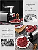 AICOK Electric Meat Grinder, 3-IN-1 Meat Mincer