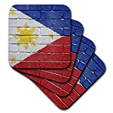 3dRose cst_156968_3 National Flag of Philippines