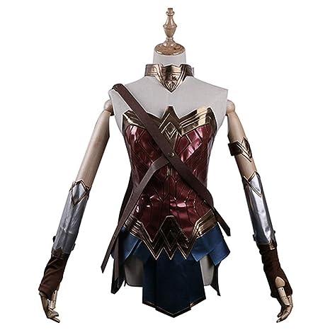 Mujer Maravilla Cosplay Battleframe Falda Traje de Dama Fancy ...