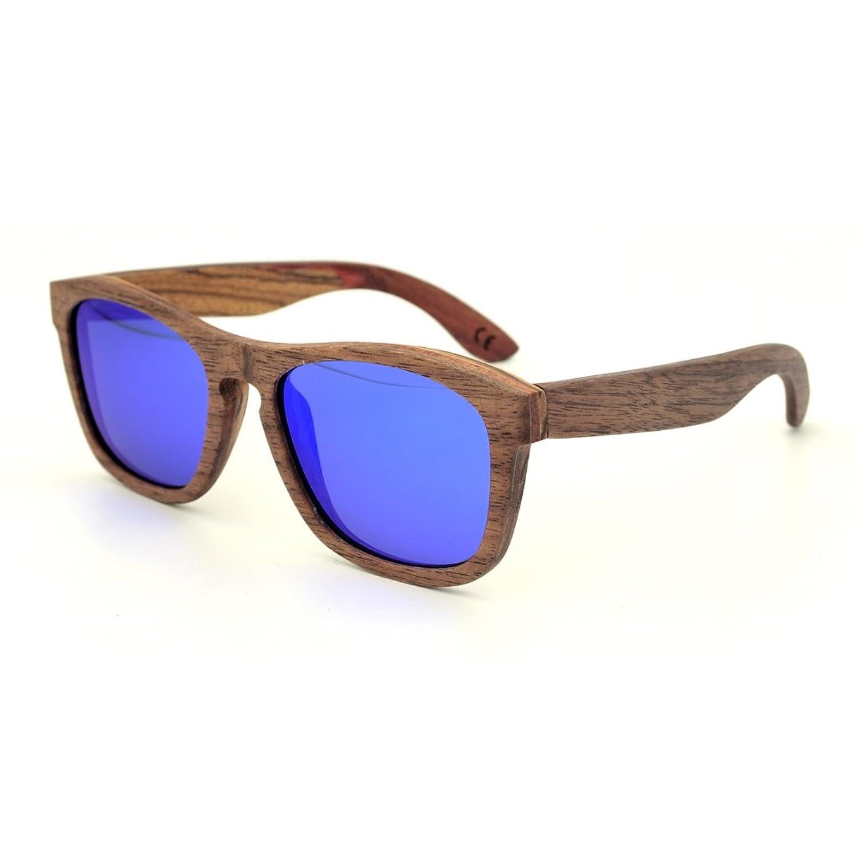 Meijunter Handmade Jahrgang Retro Holz Brille UV400 Brille Street Mode Eyewear Polarisiert Sonnenbrille 4mw5KCg