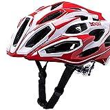 Kali Protectives Maraka Bike Helmet (Zone Red/White – S/M)