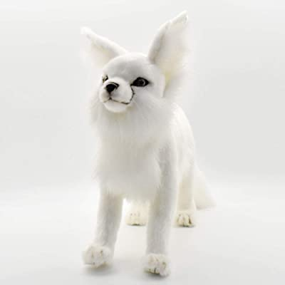 HANSA Arctic Fox Plush: Toys & Games