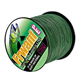 Frwanf Braid Fishing Line 1000M/1093Yards Moss Green – 4 Strands Super Strong Multifilament Fishing Wire 10LB Test PE Fishing String for Freshwater&Saltwater Deep Sea Fishing Ice Fishing etc. Review