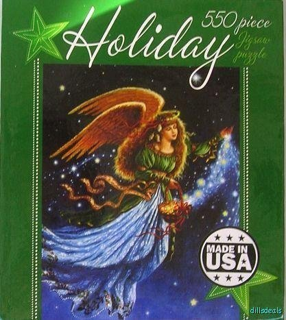 Holiday Christmas Angel by Ruth Sanderson 550 pc Jigsaw Puzzle by Ceaco