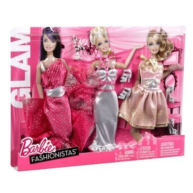 Barbie My FAB Life Night Looks Fashion - Glam/night Out - New in 2011 (Evening Dress 2011)