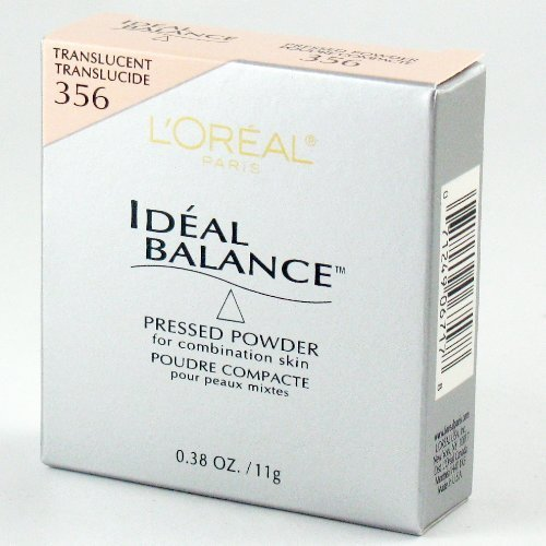 Loreal Paris Ideal Balance Pressed Powder for Combination Skin SPF 10 #356 Tr... -