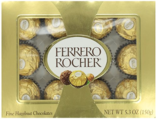 Ferrero Usa Rocher, 12 pieces, 5.3 oz