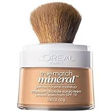 L'Oreal Paris True Match Naturale Mineral Foundation, Nude Beige, 0.35 Ounce
