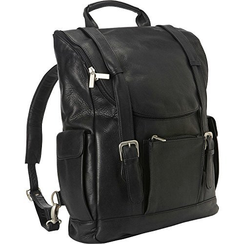 le-donne-leather-classic-laptop-backpack-black