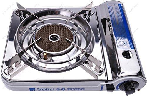 M.V. Trading Co NS3500CS/WH Soniko Steel Portable Gas Sto...