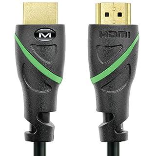 Mediabridge Flex Series HDMI Cable (3 Feet) Supports 4K@50/60Hz, High Speed, Hand-Tested, HDMI 2.0 Ready - UHD, 18Gbps, Audio Return Channel (B005T3LKKM) | Amazon price tracker / tracking, Amazon price history charts, Amazon price watches, Amazon price drop alerts