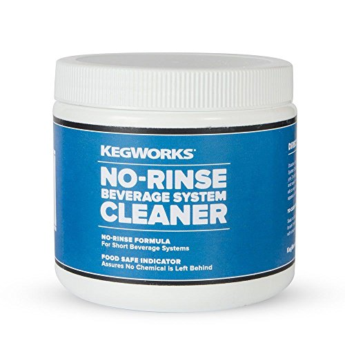 KegWorks 70031 No- No-Rinse Beverage System Cleaner, 16 oz