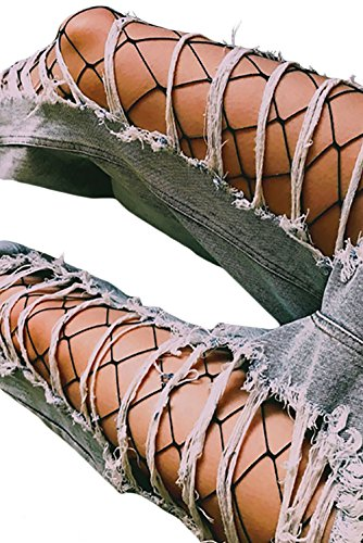 Zerolove Fishnet Stockings Women Sexy Pantyhose Stretchy High